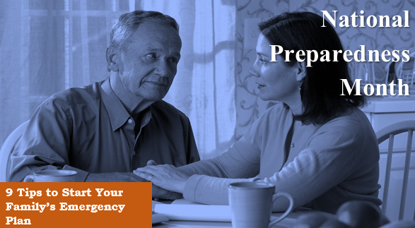 9 Tips to Start Your Family's Emergency Plan – Are You Prepared?